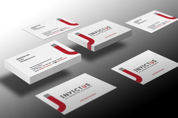 Invictus Law corporate branding