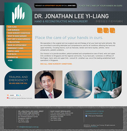 Hand Surgery Clinic Website