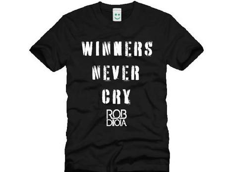 WINNERS NEVER CRY TEE