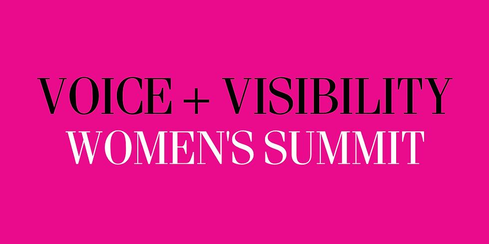 Voice + Visibility Women's Summit