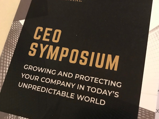 Lessons from our CEO symposium
