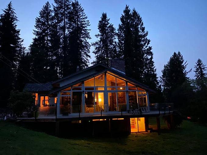 Ranforest ranch lit up at night.jpg