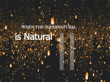 Vayishlach: When the Supernatural is Natural II