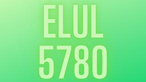 Elul 5780