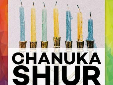 Chanuka Shiur 5781