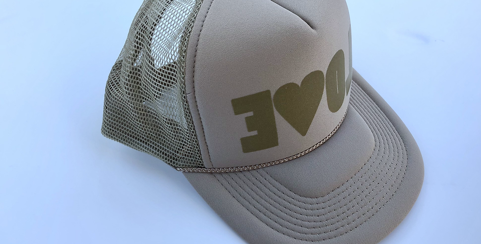 EVOL Hat Adult Tan