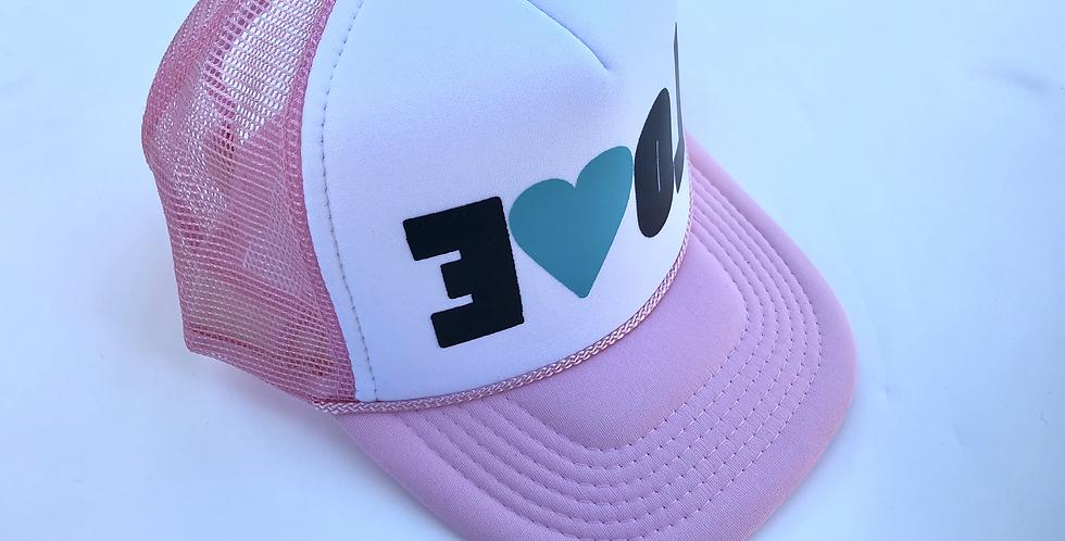 EVOL Hat Kids Pink