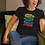 Thumbnail: Hustle Invest Travel Repeat Women's Relaxed T-Shirt (Black or White)
