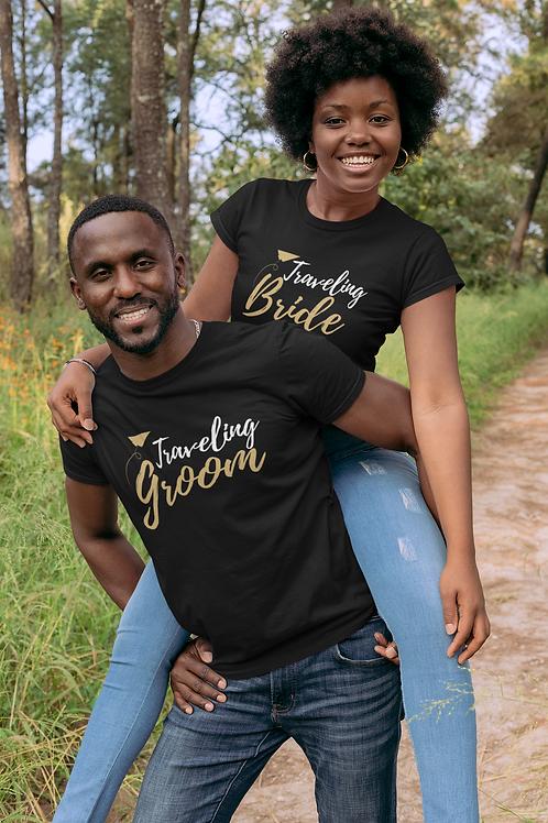 Traveling Groom Short-Sleeve Unisex T-Shirt