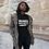 Thumbnail: Melanated Motivated Traveler - Women's Relaxed T-Shirt