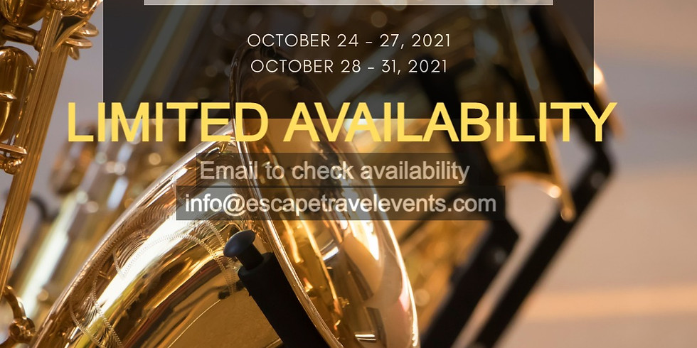 SOLD OUT Jazz & SolFEST Music Getaway - Affiliate Partner