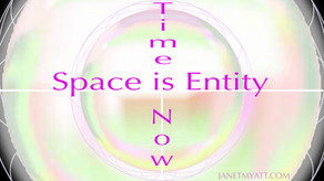 Unity Meditation 3: Space is Entity, Time is Now