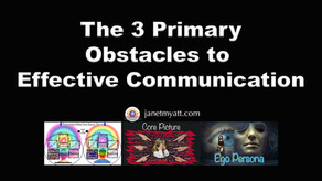 Communication Makes the World Go Round