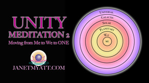Unity Meditation 2: Moving from Me to We to ONE