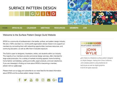 Surface Pattern Design Guild: Featured Member