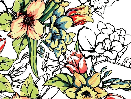 Floral Pattern for S/S 20