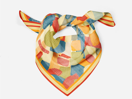 More Scarf Print Fun!