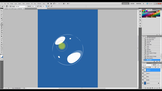 Photoshop Tutorial: How To Make A Bubble