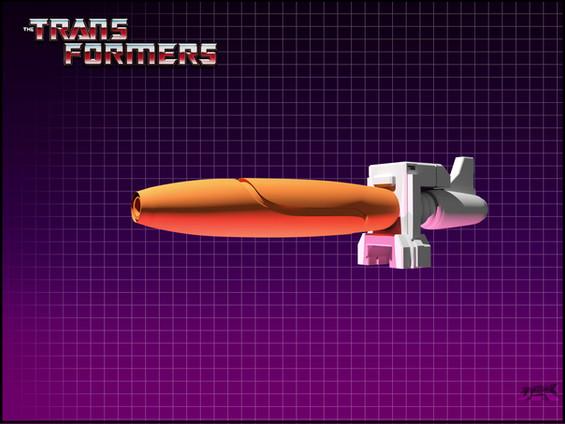 Galvatron Arm Rifle