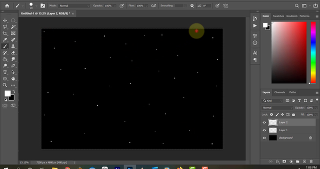 Photoshop Tutorial: Starfield