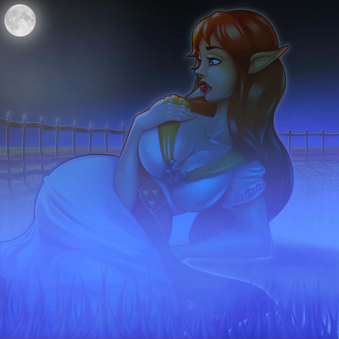 Ghost of Malon at night