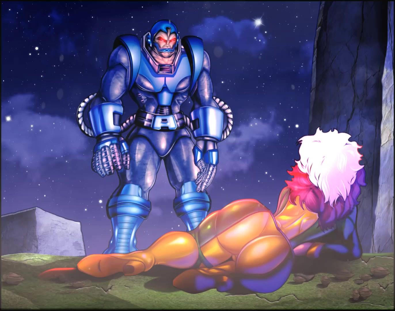 Rogue meets Apocalypse (Animated)