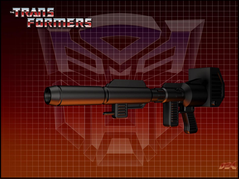 Optimus Prime's Ion Cannon