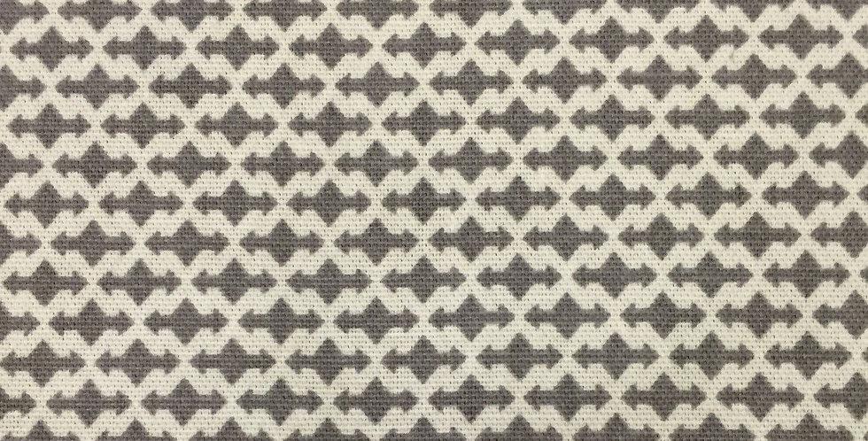 Gray Geometric - Modern Fabric