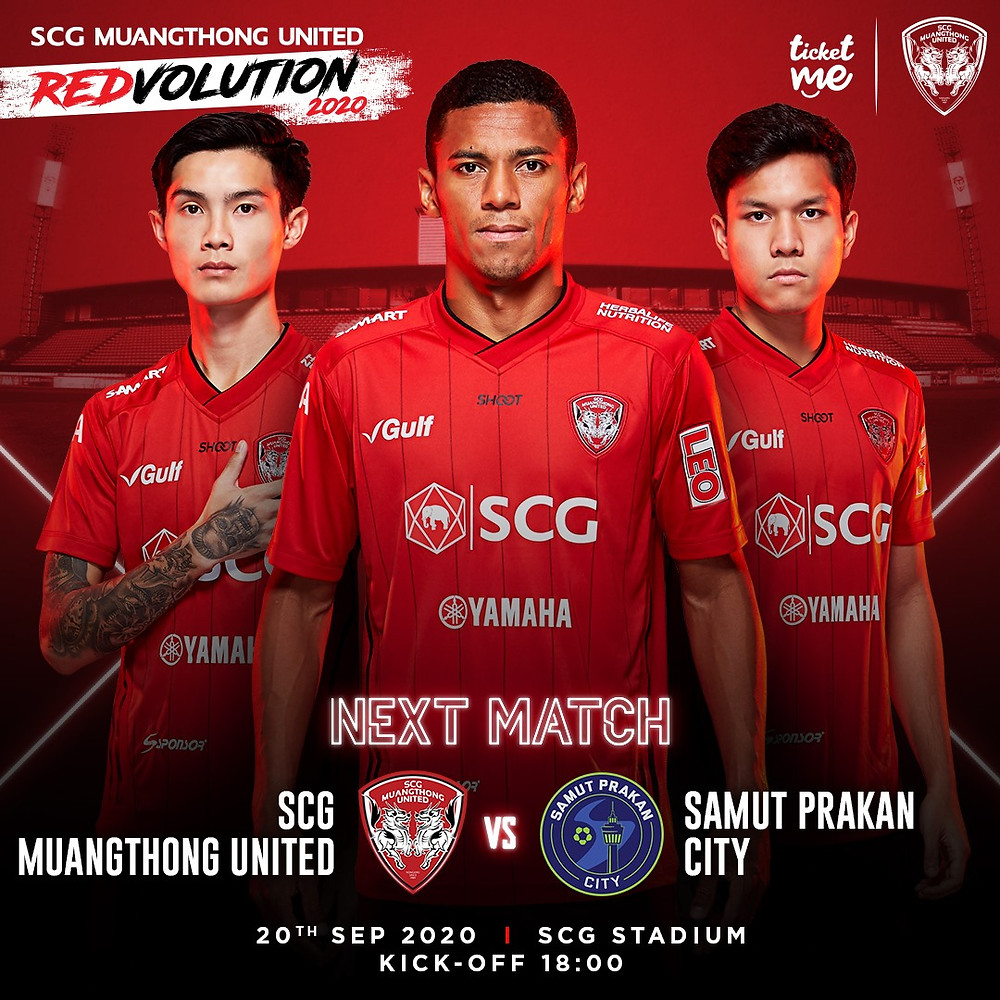 Three Muangthong Players - next match details