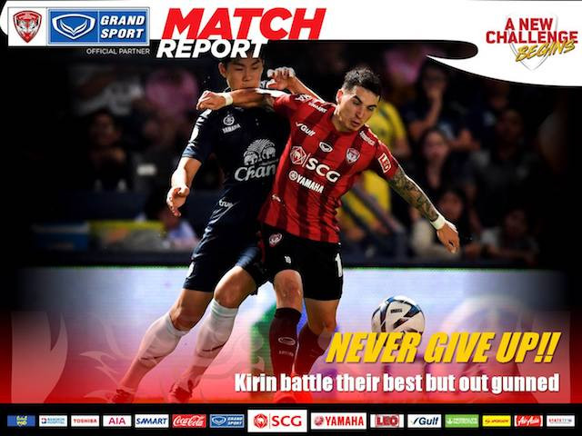 NEVER GIVE UP! - Kirin battle their best but out gunned