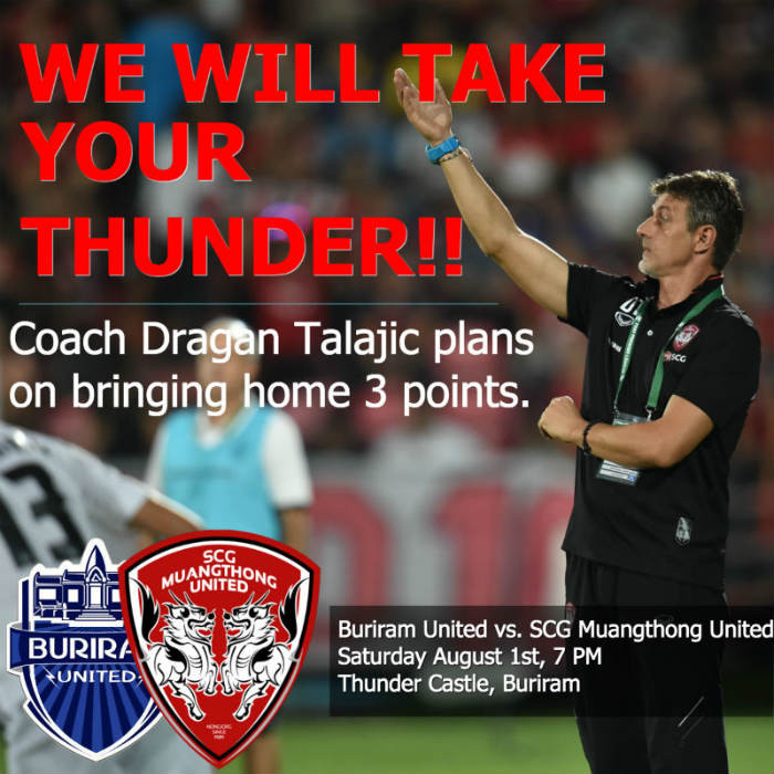 WE WILL TAKE YOUR THUNDER - MTUTD AT BURIRAM