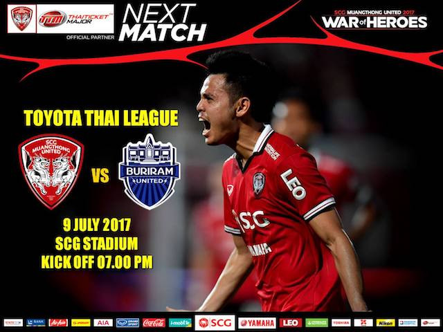 NEXT MATCH: Buriram United!