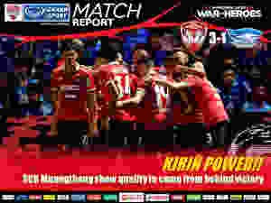 SCG Muanghtong United win the Thailand Classico