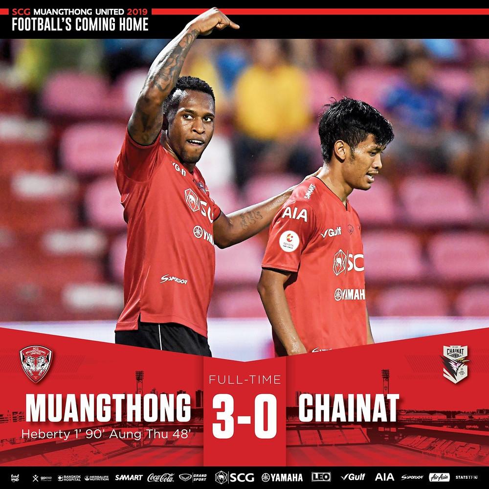 PAYBACK!! Kirin win 3-0 over Chainat FC