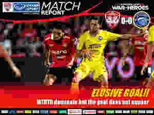 Elusive Goal - The Kirin draw 0-0