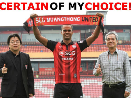 CERTAIN OF MY CHOICE!! - Junior Negrao thrilled to be joining MTUTD