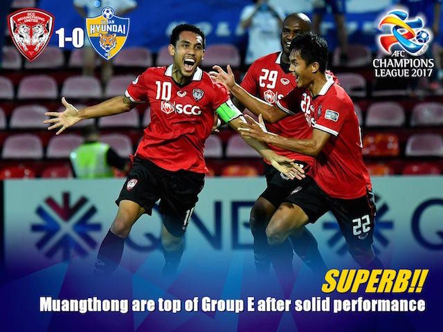 Superb!! MTUTD top spot in Group-E