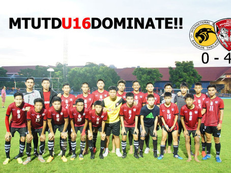 MTUTD U16: DOMINATE AT INT'L SCHOOL BANGKOK