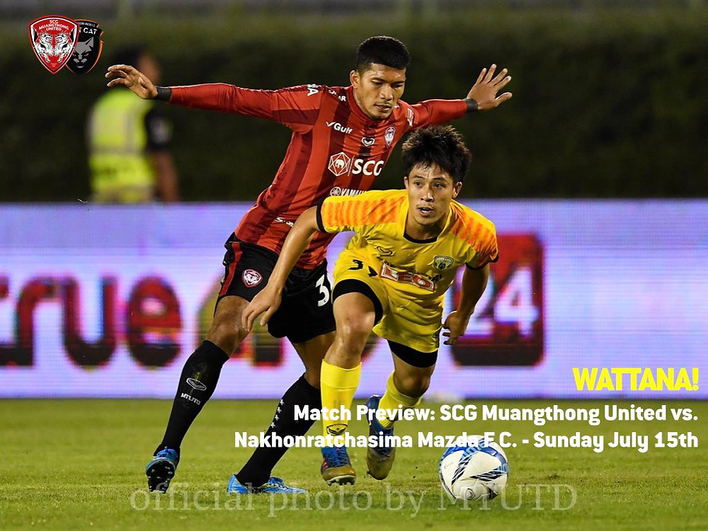 MATCH PREVIEW: MTUTD vs. Nakhonratchasima F.C.