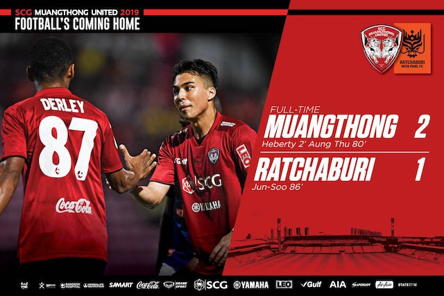 A DETERMINED WIN OVER RATCHABURI!