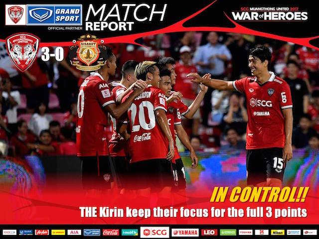 IN CONTROL!! Kirin have 7th clean sheet win