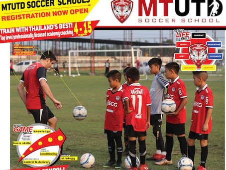 MTUTD SOCCER SCHOOLS: REGISTRATION TIME!!