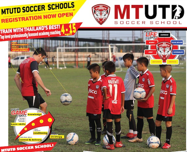 MTUTD SOCCER SCHOOLS - Registration open