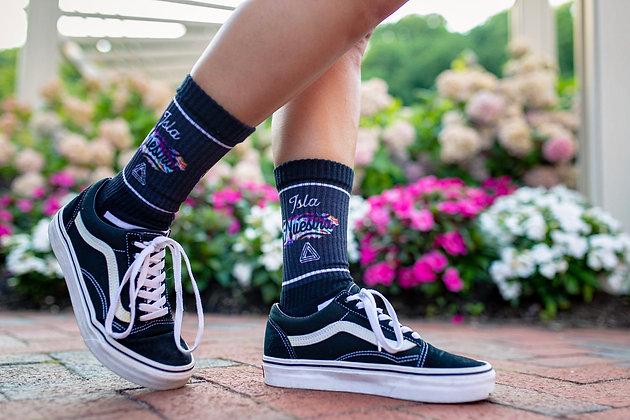Isla Nuestra Crew Sock