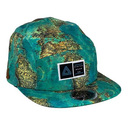 Mapa Mundi 5 Panels Cap