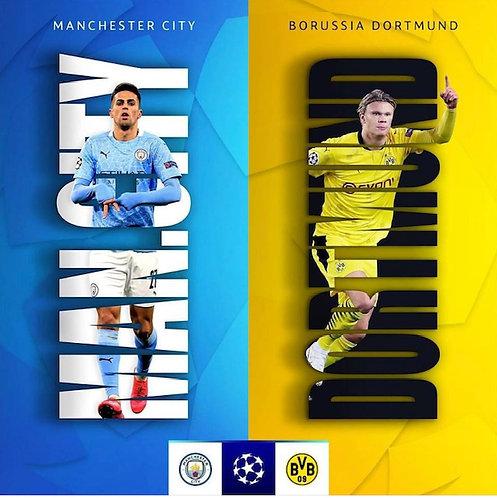 Man City v Borussia Dortmund
