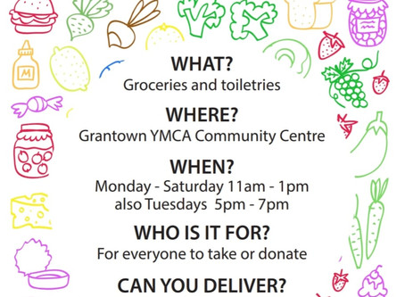 Community Food Table and Foodbank Donations