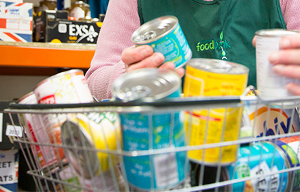 Help!  Foodbank items required