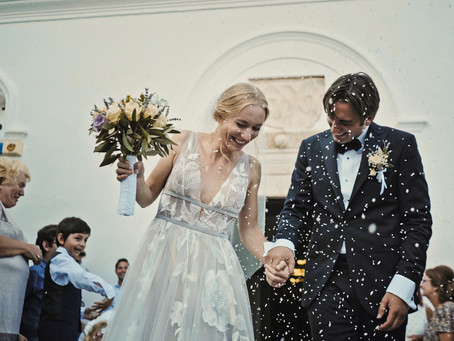 George & Tonia                                       Destination Wedding in Monemvasia, Greece