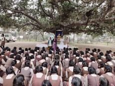 great work by dr.vikas agrawal in saraswati shishu mandir raipur
